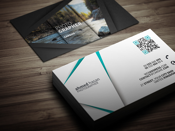 free creative business card temp template freebie print brand Stationery identity professional business card shadow