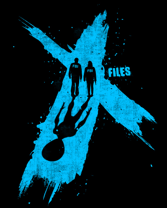 The X Files T Shirt Design Challenge On Behance