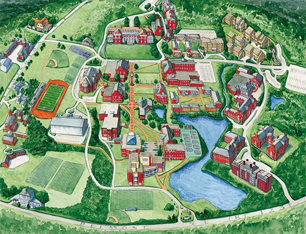 Maps on RISD Portfolios