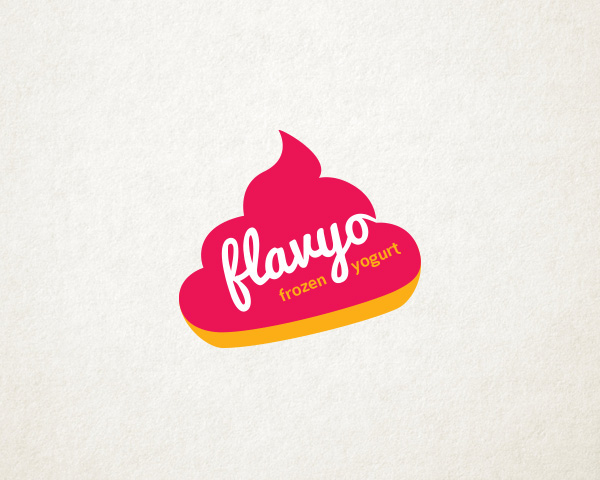 Yogurt Company Logo Flavyo Frozen Yogurt on