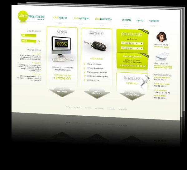 Webdesign clientwork