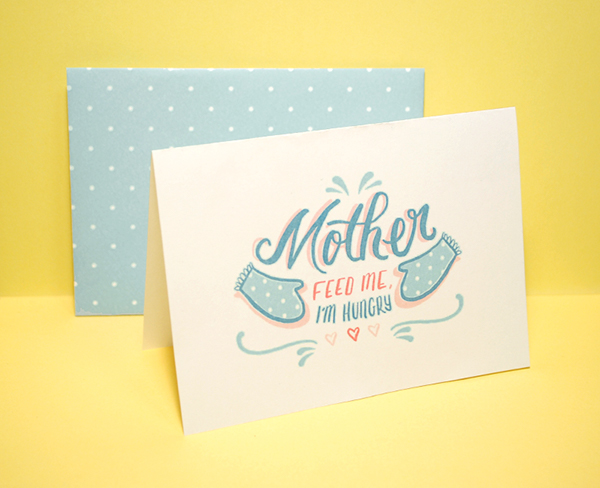 Incredible Mothers Day Cards The Ungrateful Kid Series On Behance Birthday Cards Printable Opercafe Filternl