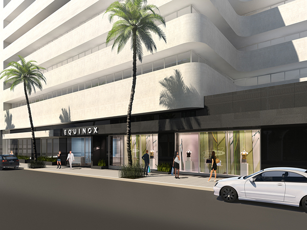 Equinox Beverly Hills Restaurant