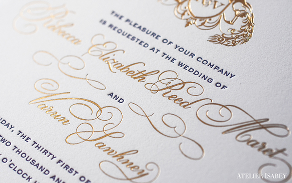 New Years Eve Wedding Invitation: New Year's Eve Laser Cut Wedding Invitation On Behance