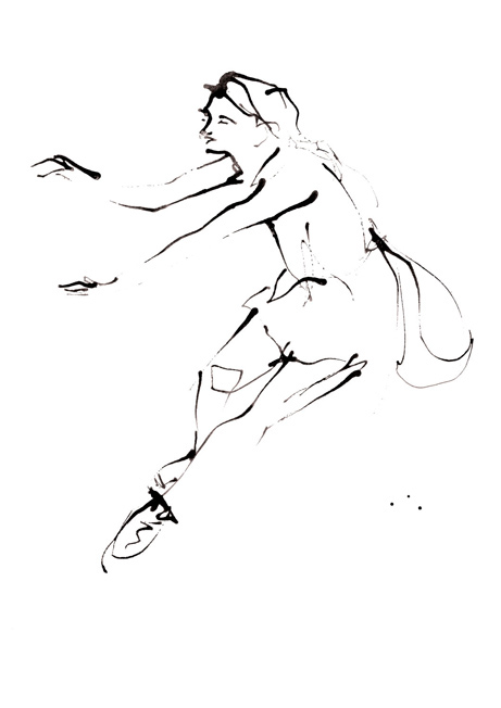 Line Drawing Dancer : Dance drawings on wacom gallery