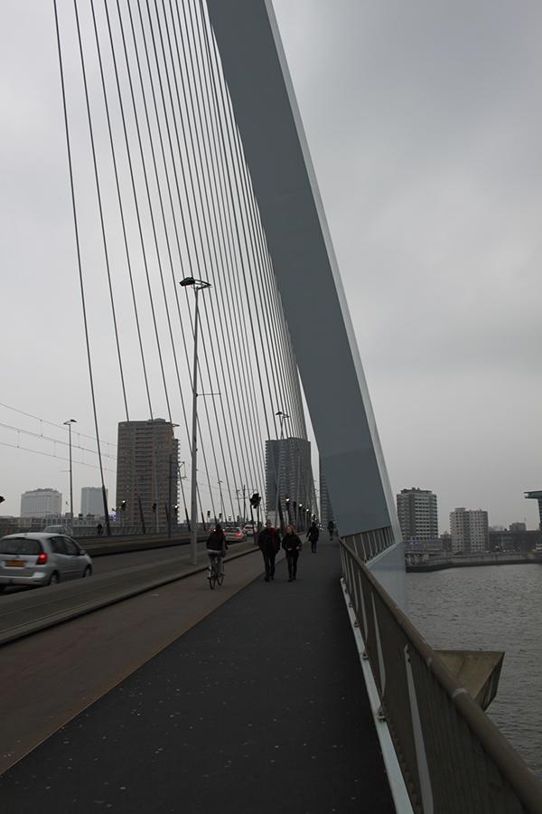 Erasmus Bridge, Rotterdam on Behance