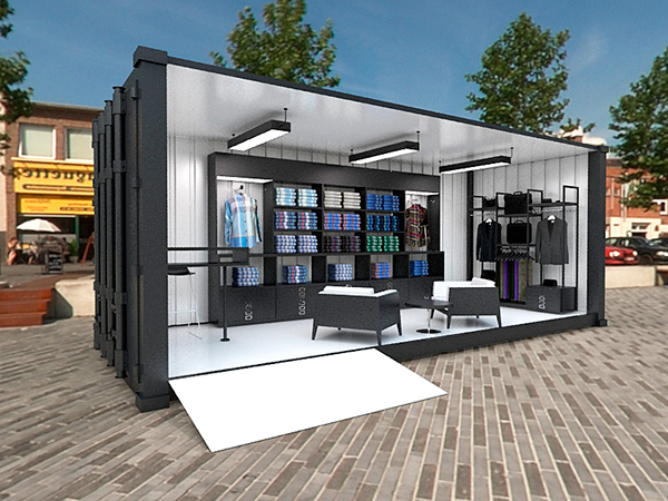 Good Exhibition Stand Design Ideas : Ben sherman container store on behance