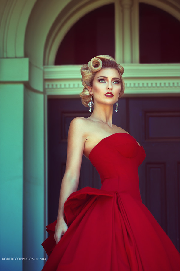 The Red Dress On Behance