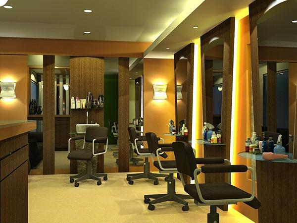 A beauty salon renovation on behance for Salon renovation