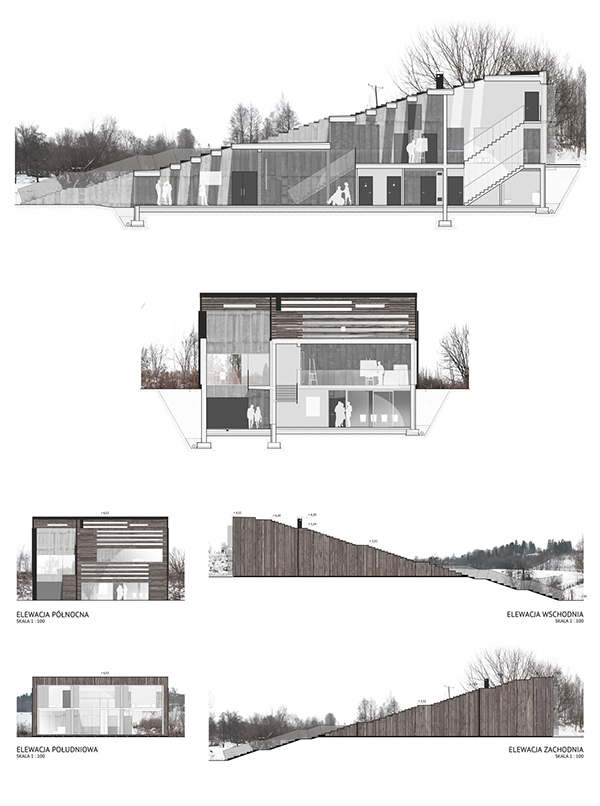Artist 39 S House On Behance
