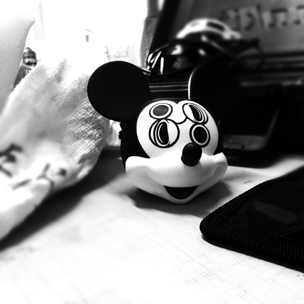 mickey mouse mickey citychain optical 88 spectacles toys vinyl customised
