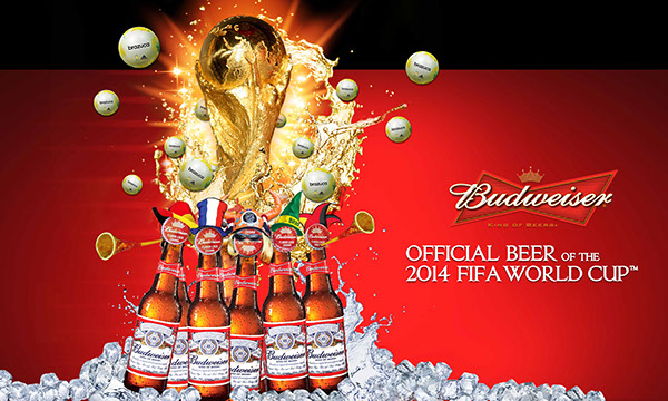 budweiser billboard 2014 fifa world cup on behance