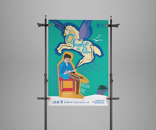 teatro poster viana do castelo Portugal