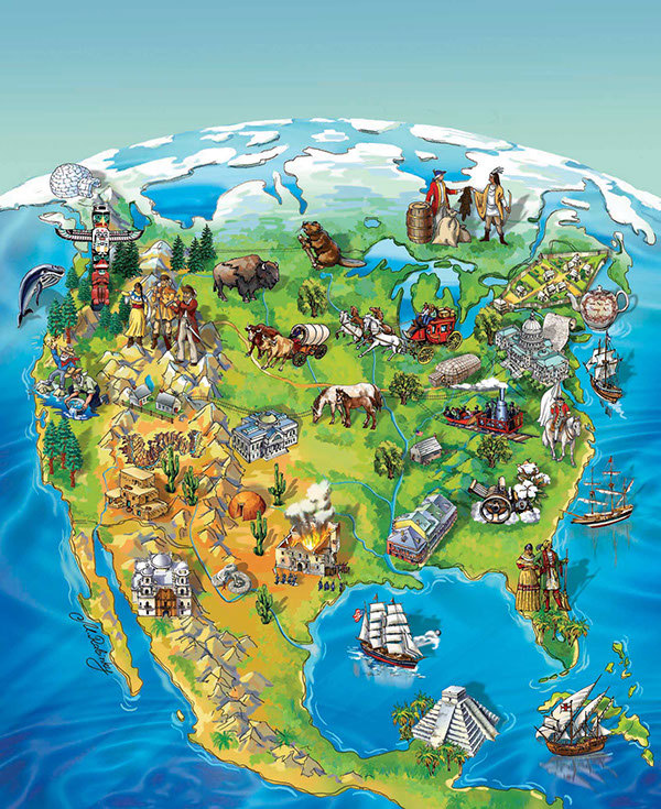 Social Studies Book For 4th Grade Book Cover For 4th Grade