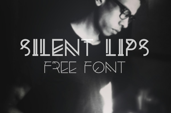 Silent Lips Font Download
