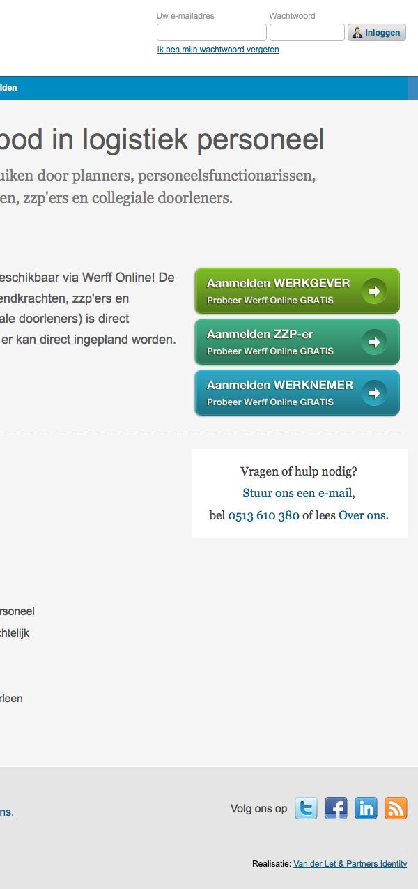 jeroen rijpstra Webdesign werff online