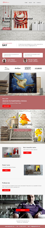 newsletter Responsive Mockup 3D