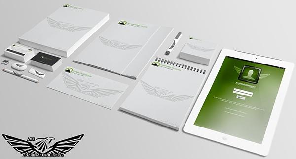 Arab Eagles Designs Mock-UP on Behance