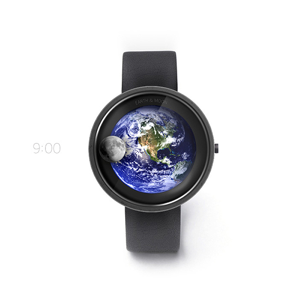 """Watch """"Earth and Moon"""" on Behance"""