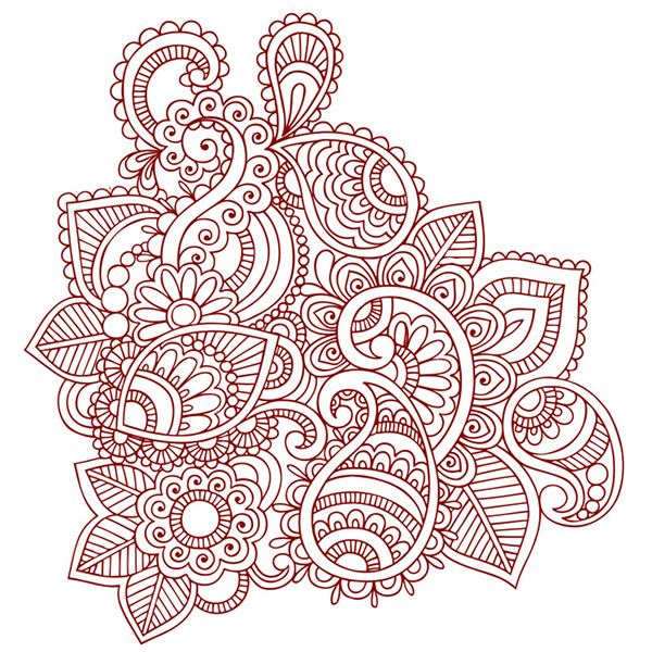 Henna Doodles Vector Designs On Behance
