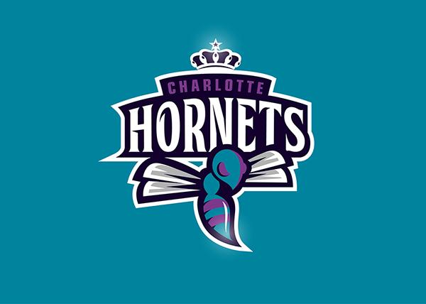 Charlotte Hornets Re Logo On Behance