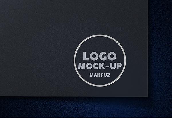 Free logo mockup design