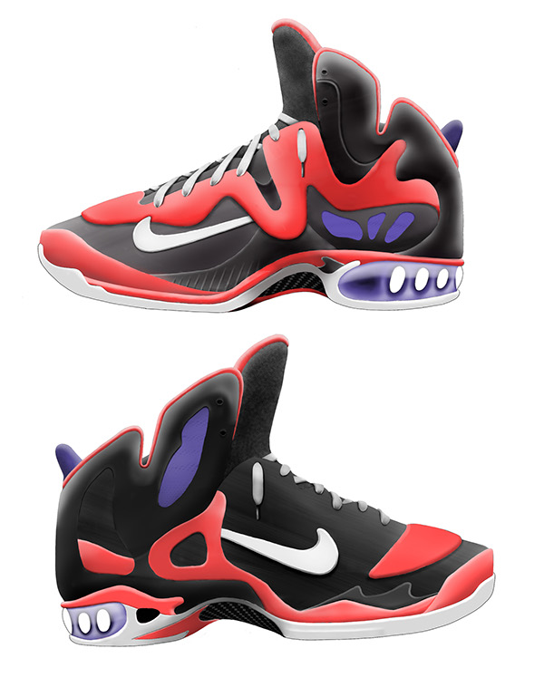 Springs In Basketball Shoes