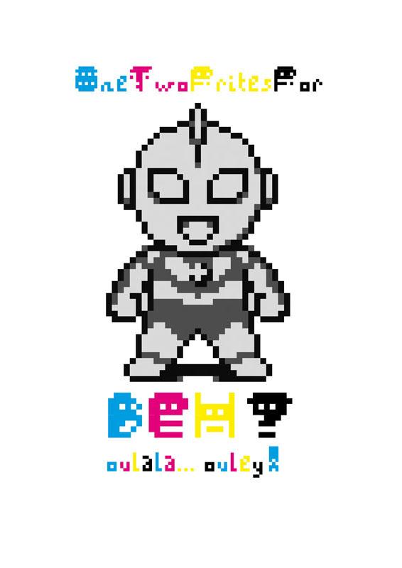 pacbit dapto font fonts type specimen graphic pixel pixels