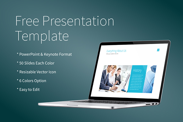free powerpoint/keynote presentation template on behance, Presentation templates