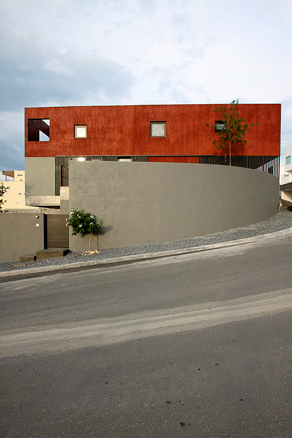 Dear Architects red house Casa Roja Mexican Architecture residential architecture monterrey mexico