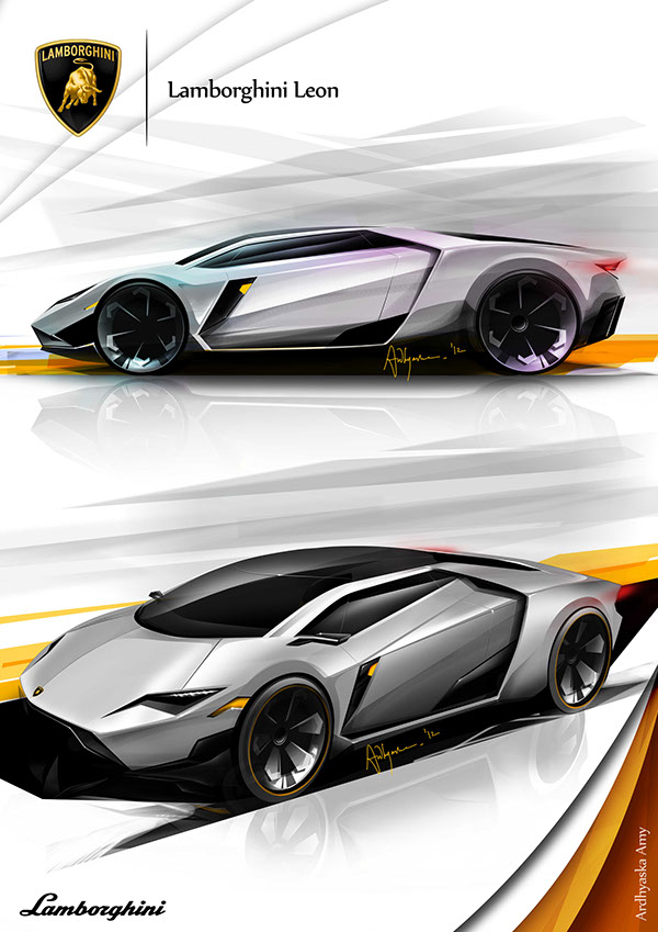 Lamborghini Leon Sketch Concept On Behance