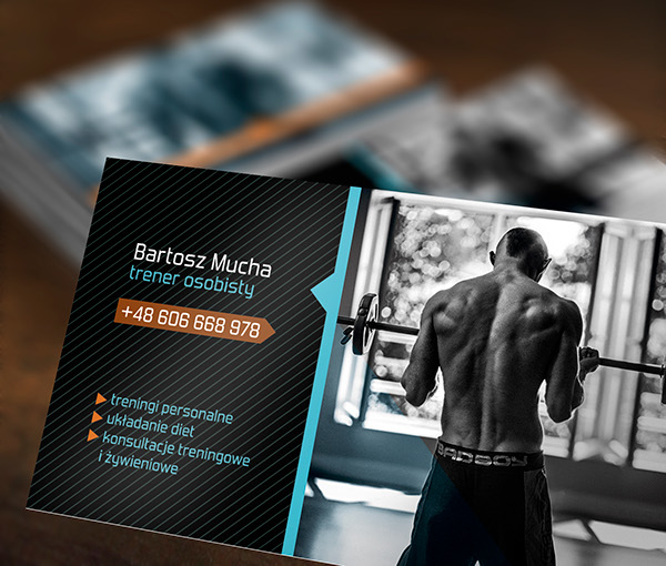 Personal Trainer Photoshoot And Business Cards On Wacom Gallery - Personal trainer business cards templates