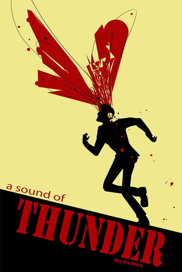 a sound of thunder paragraph The stories a sound of thunder and being prey are both stories of adventure and escape a sound of thunder is about someone who goes in the past, kills a dinosaur and he messes up the future and gets killed.
