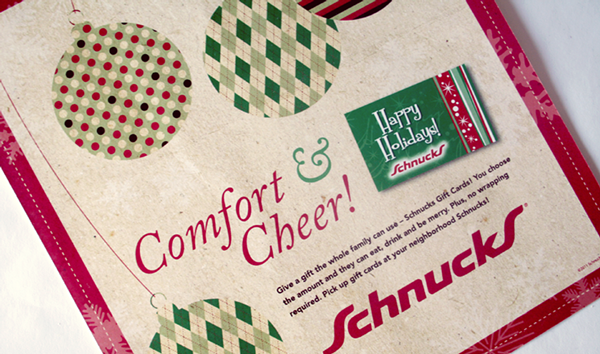 schnucks gift card schnucks holiday gift card ad on aiga member gallery 3497