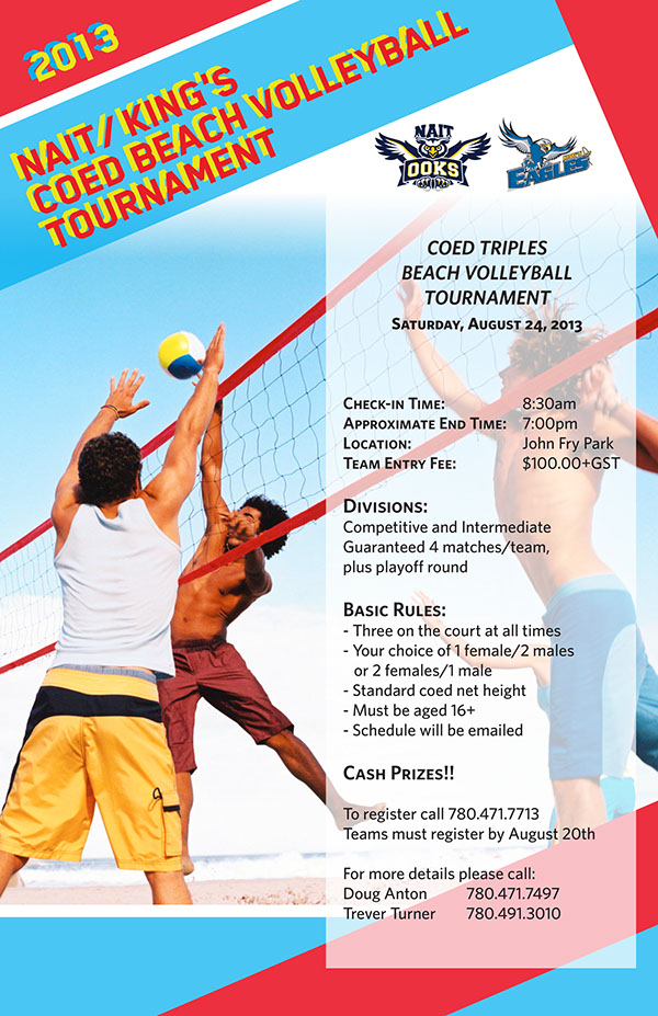 Volleyball Tournament Poster Volleyball Tournament on