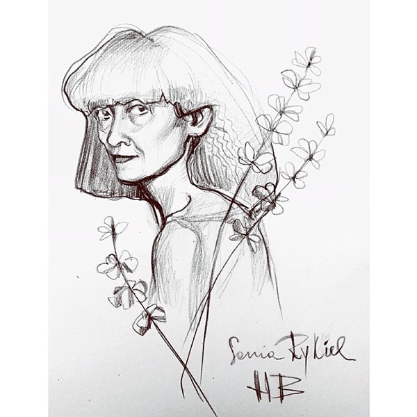 #Portrait #yohjiyamamoto #devonaoki #soniarykiel #drawing #pencil