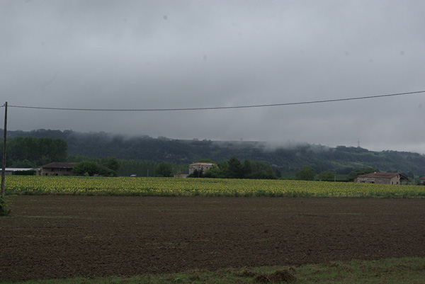 biking southern france country