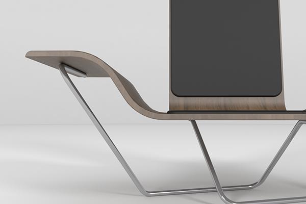 Zen Chair Num.2 On Behance