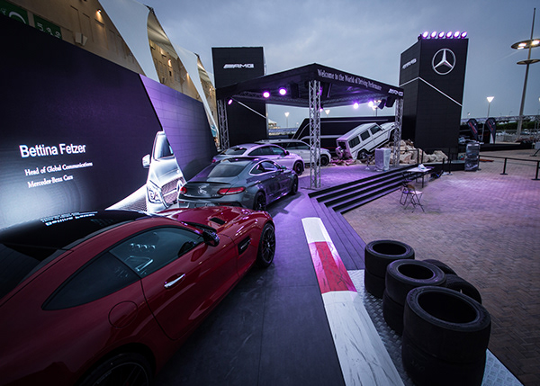 Mercedes AMG Pavilion, Formula 1 Abu Dhabi