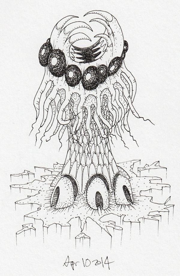 personal ink paper demon doodle twitter