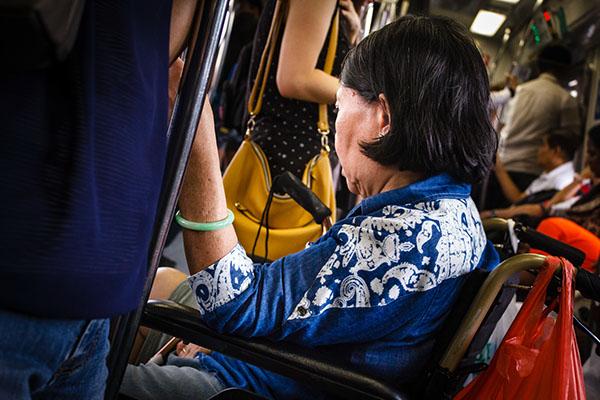 voyeurism experimental singapore train MRT hidden candid subway
