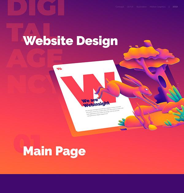 Digital Agency Website Design