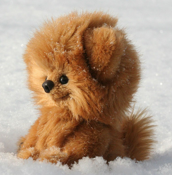 Design Of Pomeranian Dog Toy 2012 On Behance