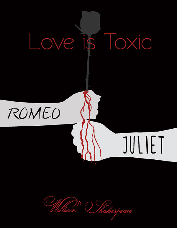 Romeo And Juliet Book Cover Ideas ~ Book cover redesigns on behance