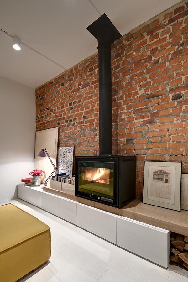 lipinka apartment on behance. Black Bedroom Furniture Sets. Home Design Ideas