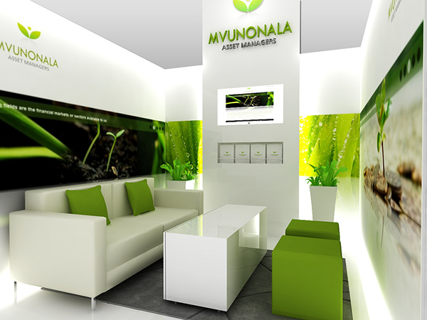 Sungard Exhibition Stand For : Mvunonala asset managers at irf on behance