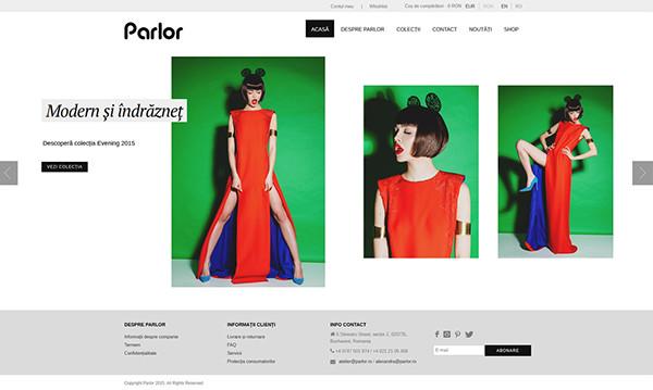 Parlor - Website