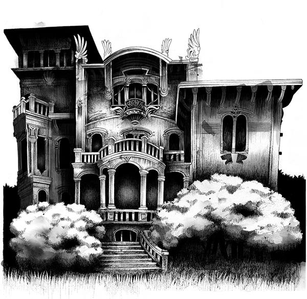 Haunted Houses On Behance