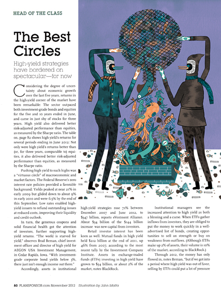 Character Design Magazine : High yield markets for plansponsor magazine on sva portfolios