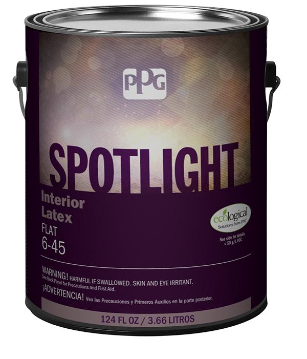 Label paint spotlight design can
